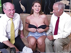 Ivy Rose gets fucked by old..