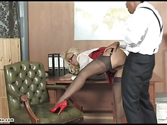 Sexy office slut vagina..