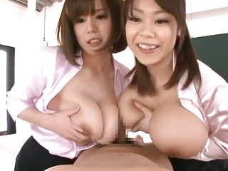 japanese double titfuck