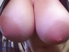 Webcam big jugs and areolas
