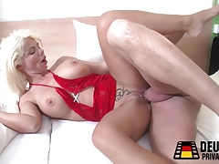 Light-haired Milf with..