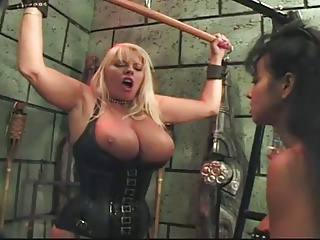 Mistress titty play, boot..