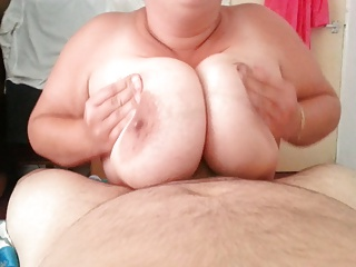 BBW Titwank with the..