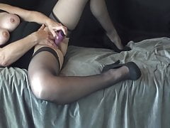 Playing with my dildo 11