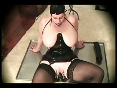 Latex-Fetish-BBW with Huge..