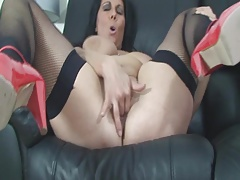 Another Buxom Dark haired